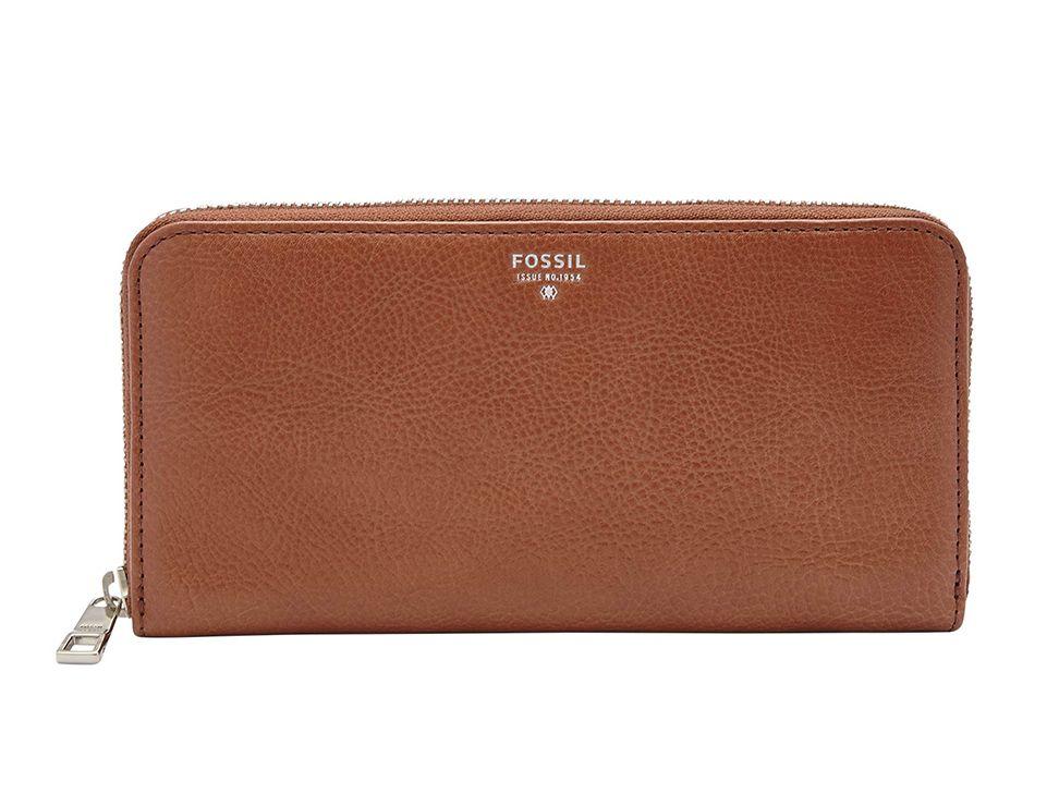 Leather Zip Around Wallet - SOFT SPRING by VIDA VIDA Te2OfEx