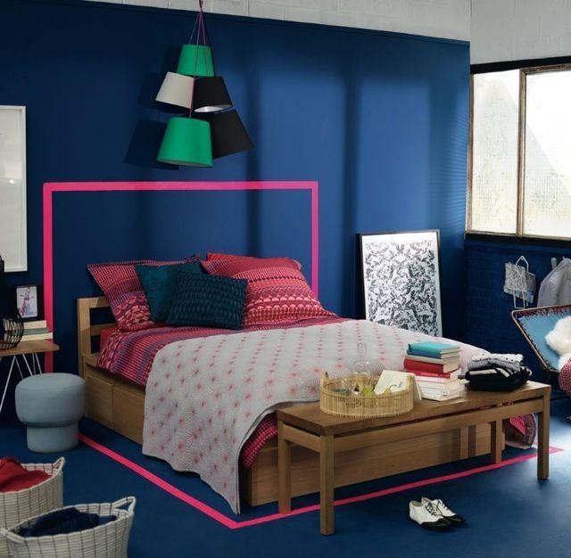 T te de lit originale pas cher diy faire soi m me - Tete de lit pas cher design ...