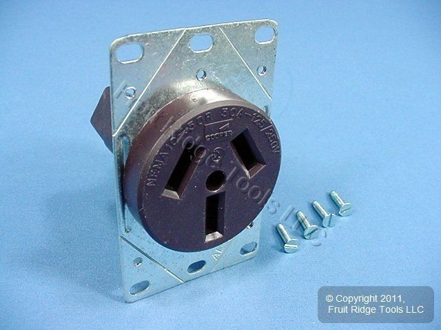 Cooper Wiring Devices 32B flush mount power outlet. If you have a ...