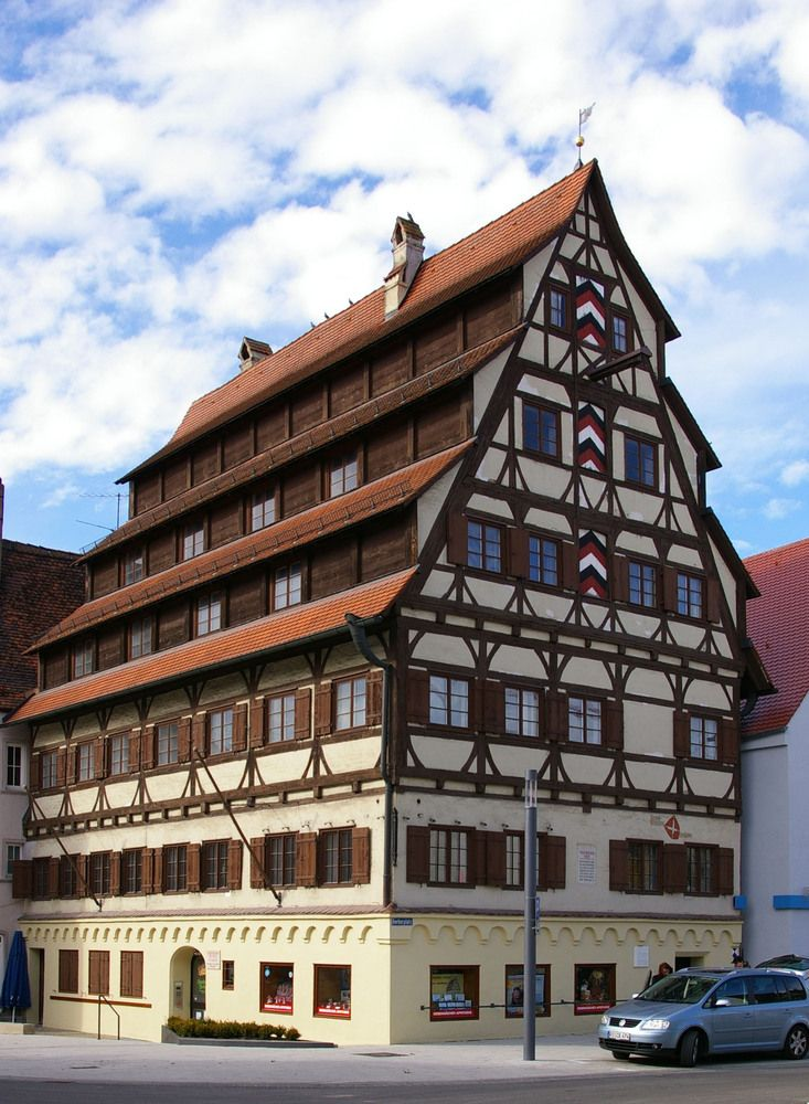 Siebendaecherhaus (seven roof house), Memmingen - Germany