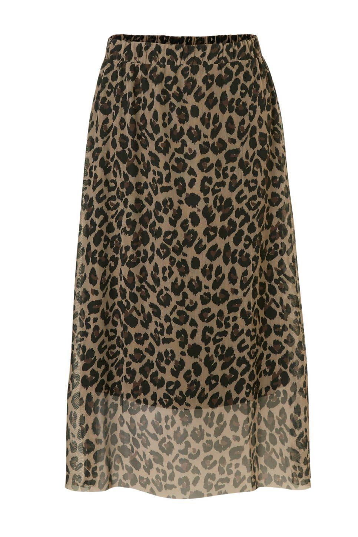9aeaf713124359 Catwalk Junkie Leopard love rok in een panterprint  wehkamp  rok  midirok   panterprint