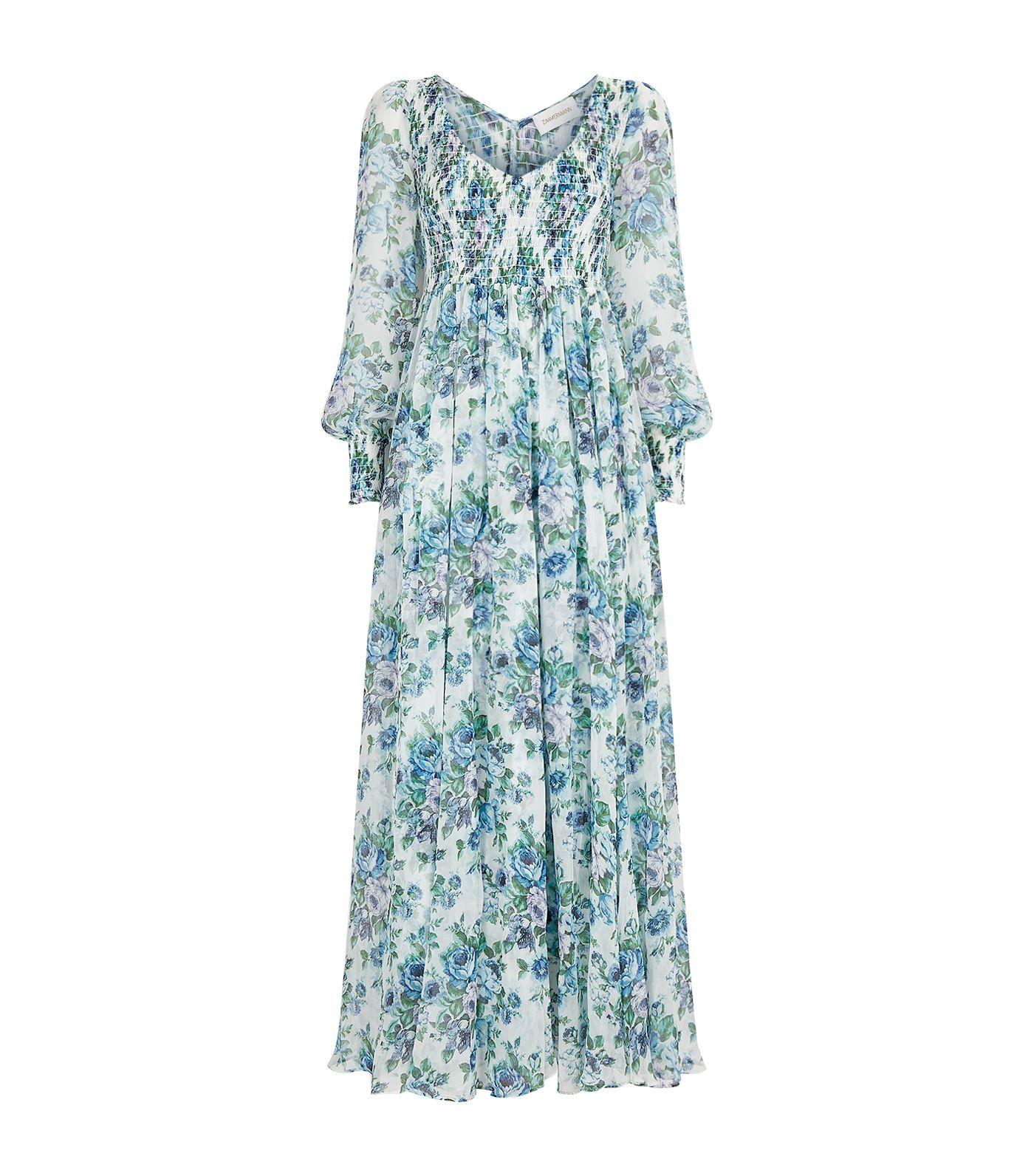 195cbf32b27 ZIMMERMANN WHITEWAVE FLORAL PRINT MAXI DRESS.  zimmermann  cloth ...