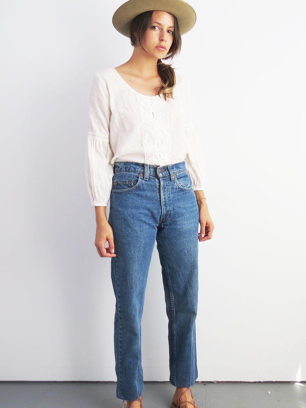 b4bcc447 Levis Cropped Jeans - 28