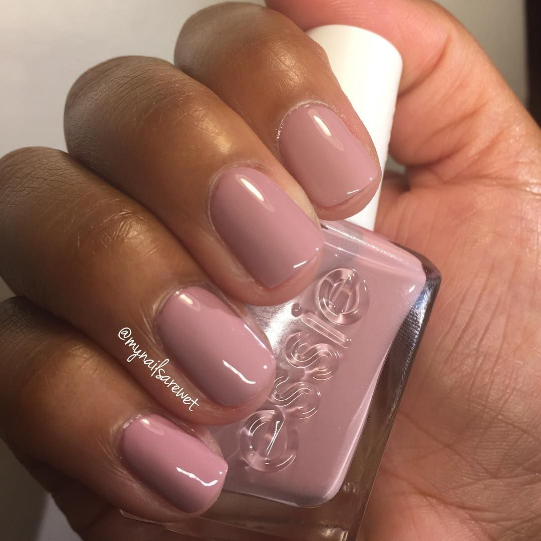 Essie Gel Couture Touch Up With Images Dark Skin Nail Polish