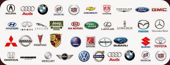 nom de toute les marque de voiture