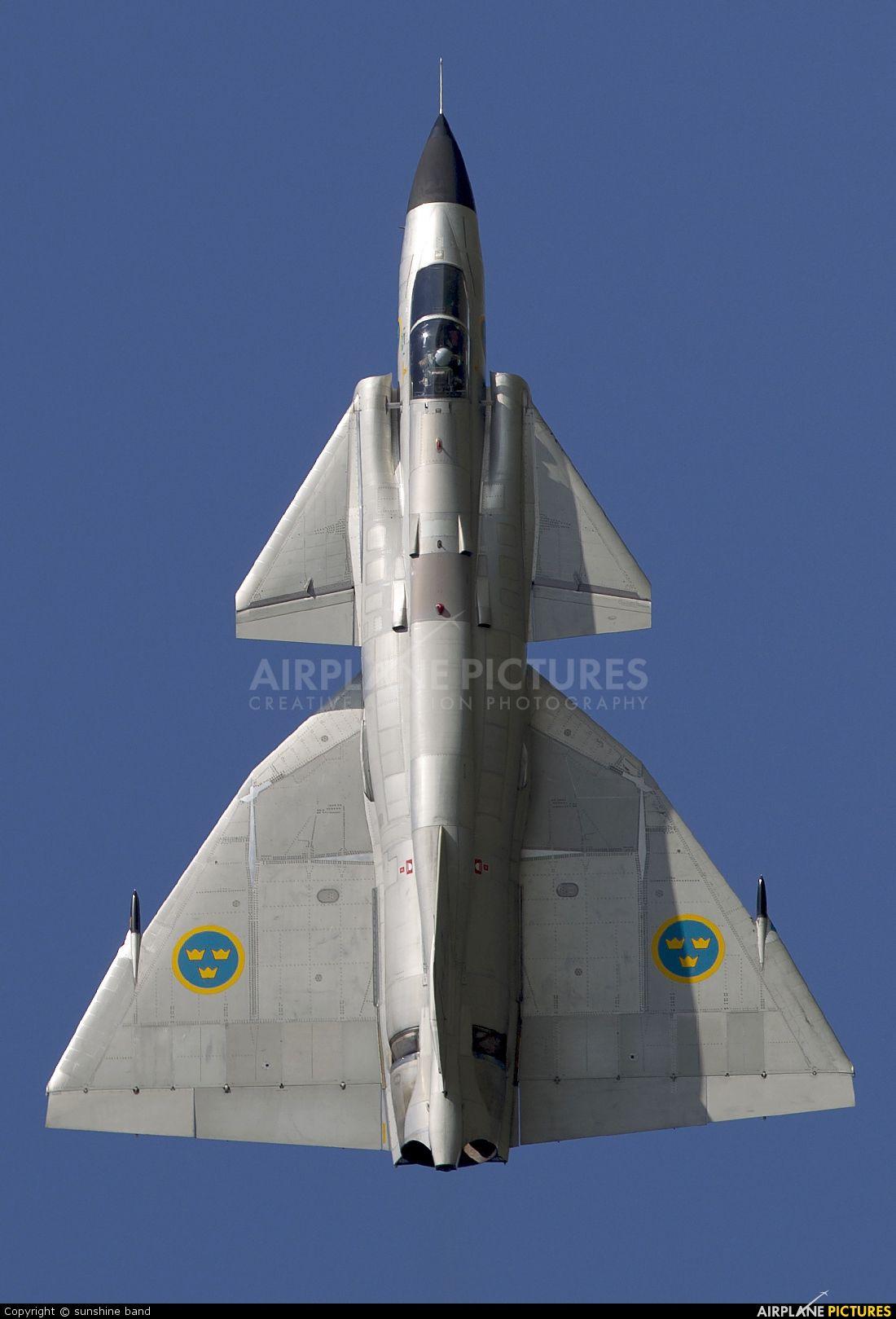 Swedish Air Force Historic Flight SAAB AJS 37 Viggen