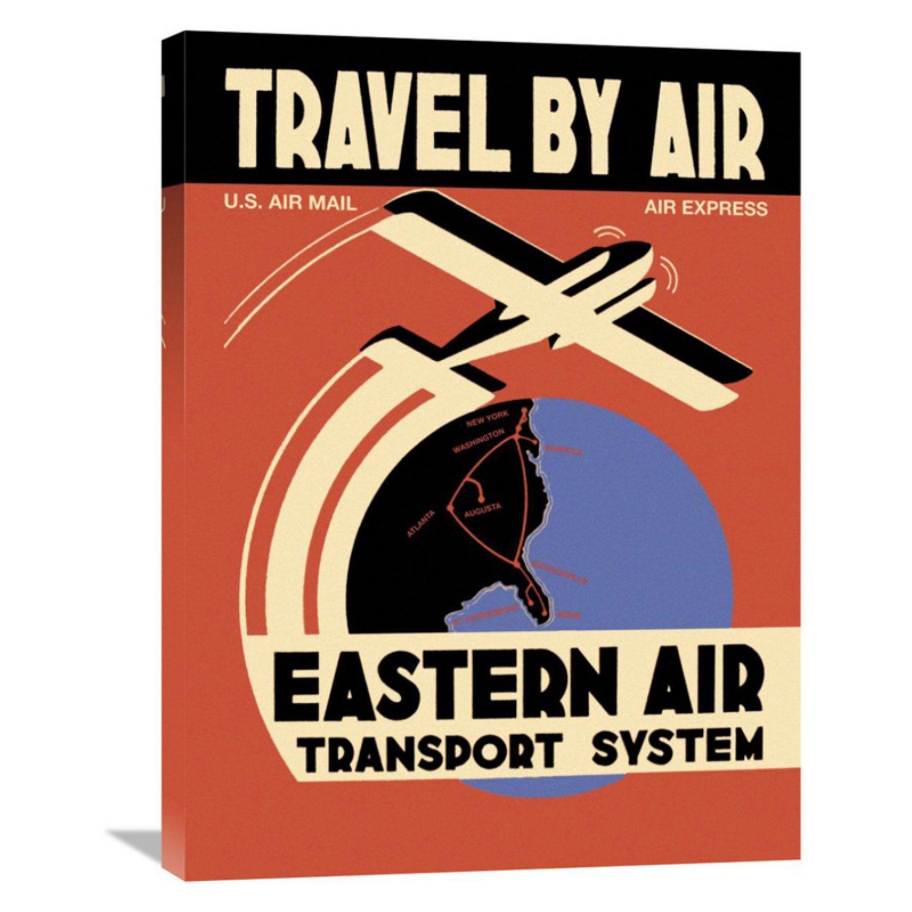 Global Gallery Eastern Air Transport System Wall Art - GCS