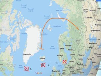 Russia can sink all US aircraft carriers flying east of Greenland ...