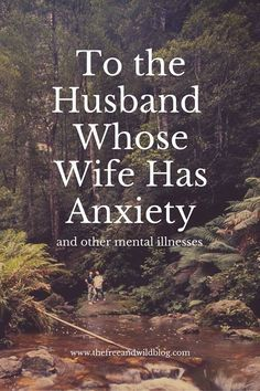 when your spouse has anxiety
