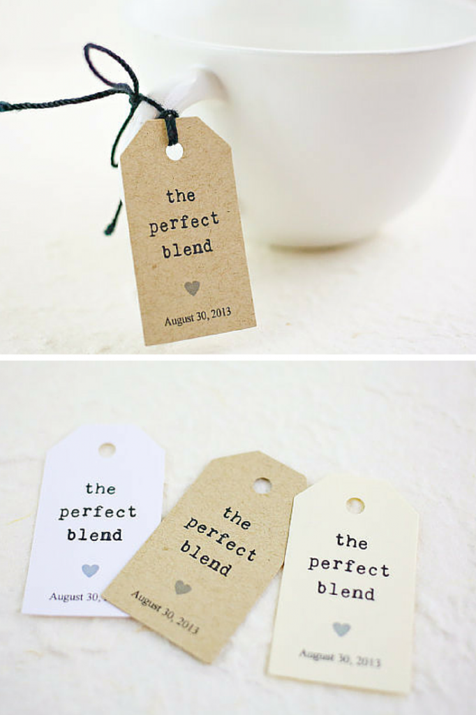 Bridal Shower Favor Tags Sayings : wedding favor tags party favor tags party favors coffee wedding favors ...