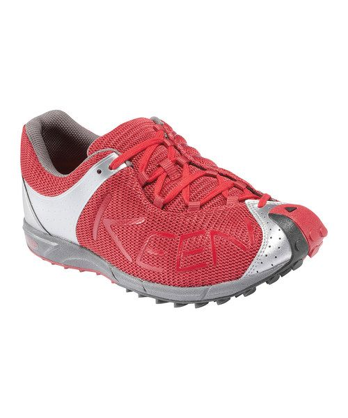 Take to the trail in confidence with this nimble and quick running shoe. Awarded TrailRunner Magazine's Editors' Choice award, the A86 TR features an ultra-light compression molded PU midsole that creates a glove-like fit while maintaining a feather-light feel and boasting multidirectional lugs for superior traction on any terrain. Size note: This style runs small. KEEN recommend...