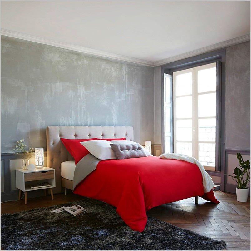 Deco Chambre Gris Et Rouge In 2020 Home Decor Furniture Decor