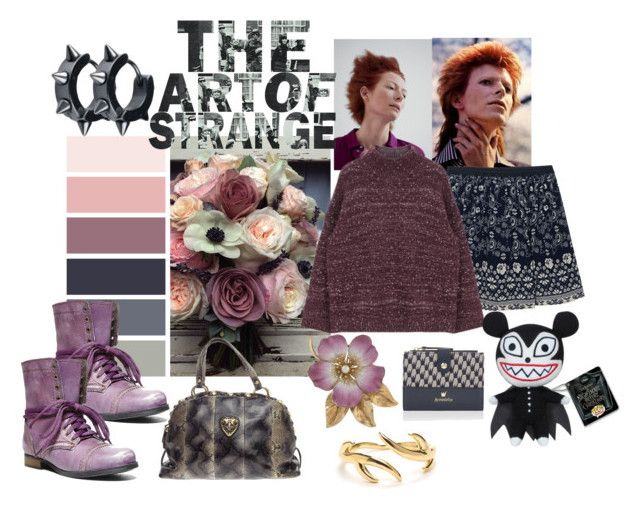 """""""The Art of the Strange"""" by pampire on Polyvore featuring Sea, New York, Accessorize, Steve Madden, Gucci, Maison Margiela and Funko"""
