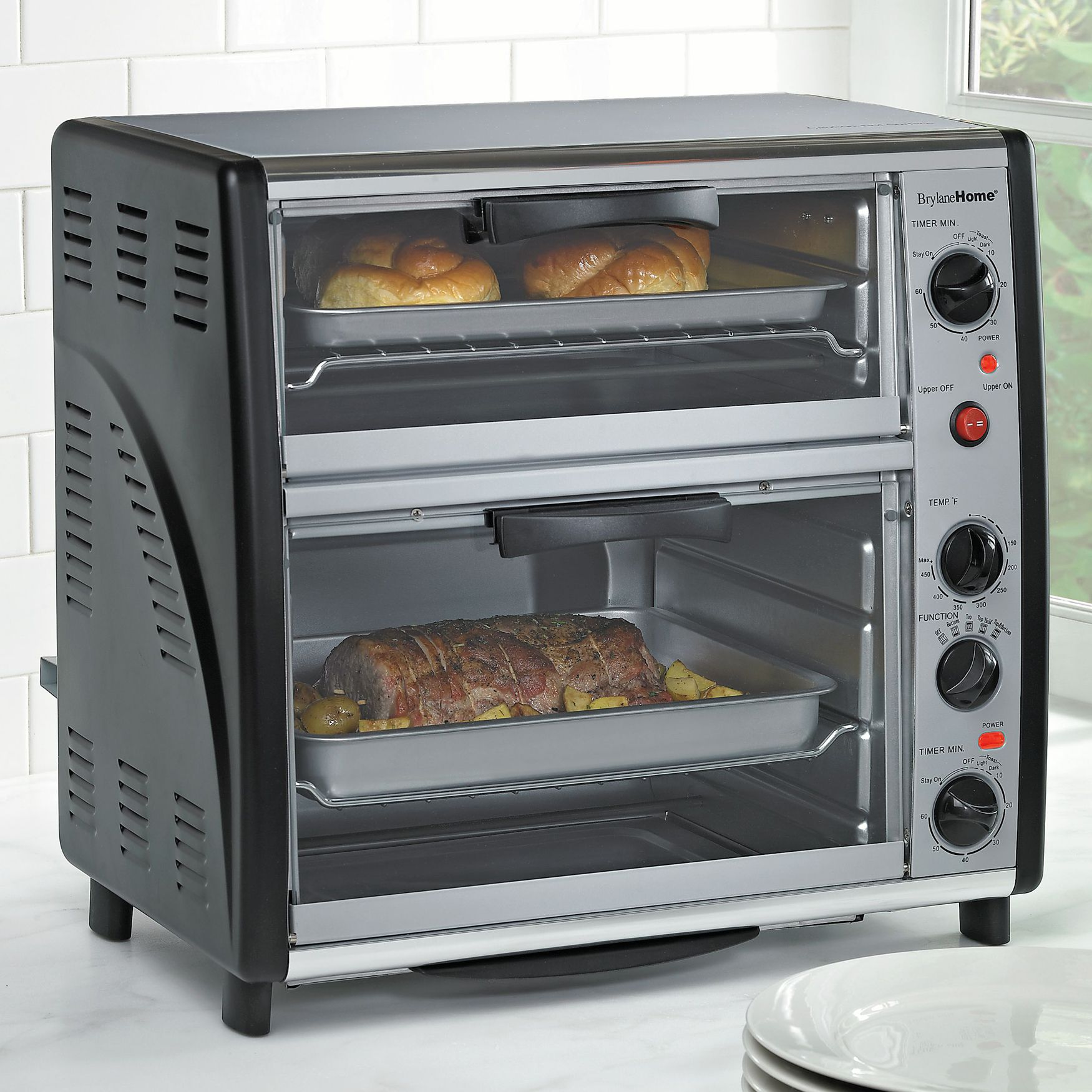 Brylanehome Double Toaster Oven Kitchen Appliances Brylanehome Toaster Oven Outdoor Kitchen Outdoor Kitchen Appliances