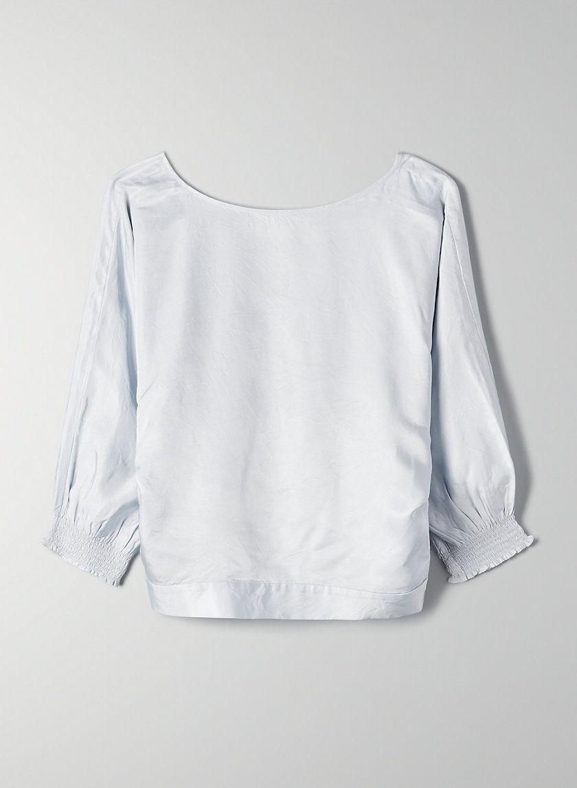 19234f69e40 Welsch blouse in 2019 | capsule wardrobe | Blouse, Crop blouse, Fashion