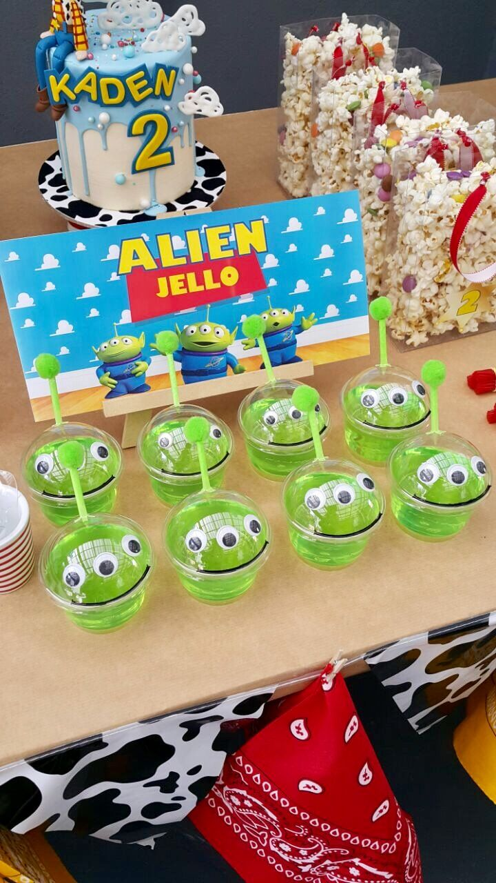 Toy Story Alien Jellos Toy Story Party Decorations Toy