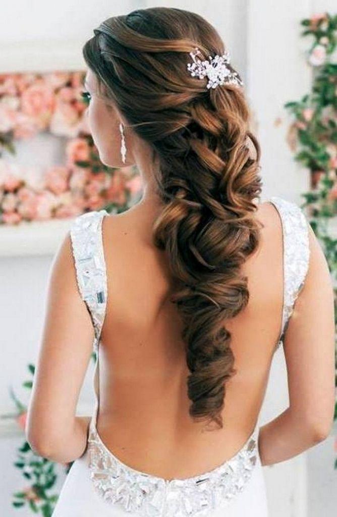 Lange Haare Stil Hochzeit Hochzeit Frisuren Für Langes Haar Der