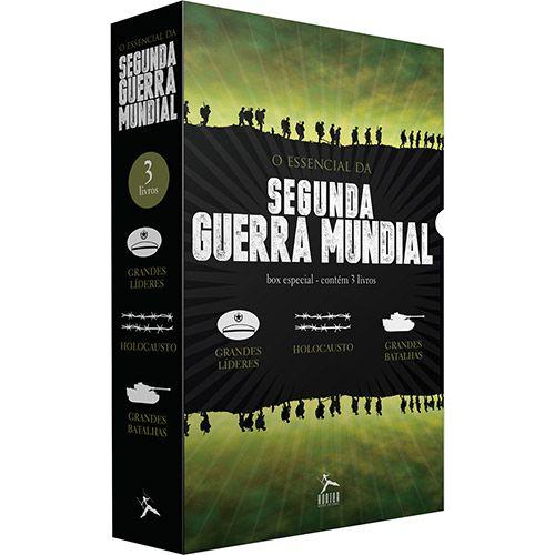 Americanas Box de Livros - O Essencial da Segunda Guerra Mundial (3 Volumes) - R$9,89