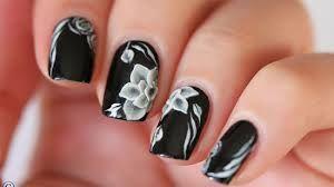 Resultado de imagem para black toenail designs
