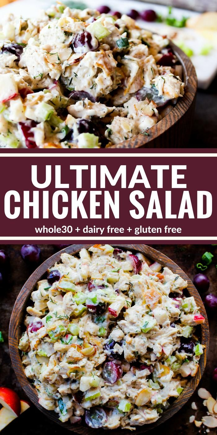 20+ This Ultimate Chicken Salad is both creamy and crunchy It's ... Stock