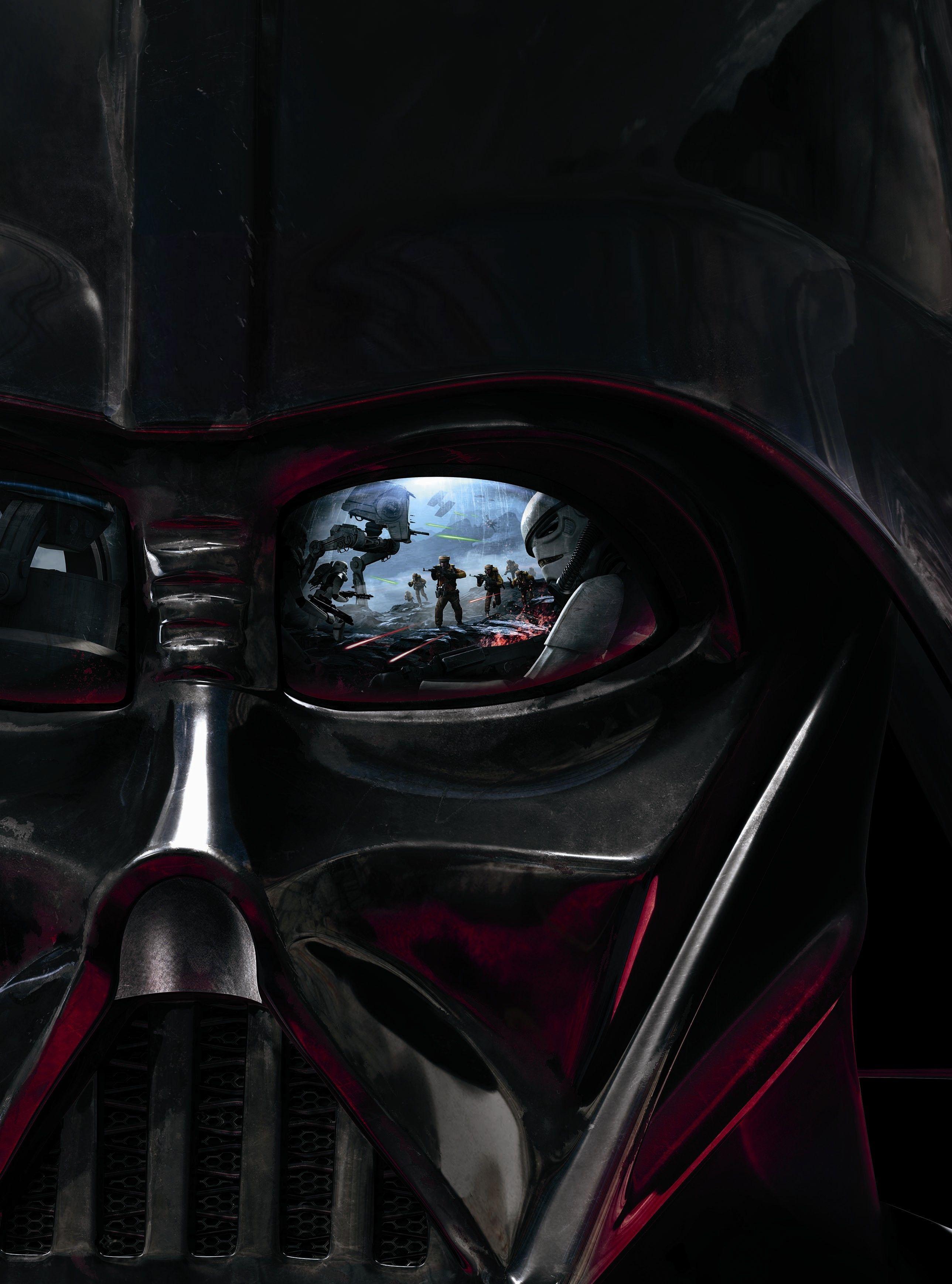 Battlefront Vader [Hi-Res Textless Poster] by Lightsabered.deviantart.com on @DeviantArt