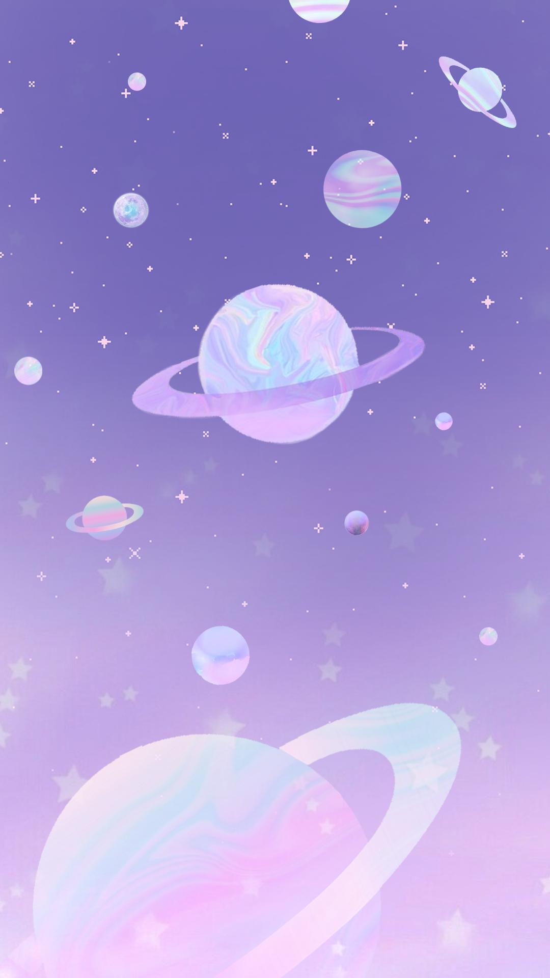 Wallpaper Galáxia Holográfica By Gocase Space Galáxia