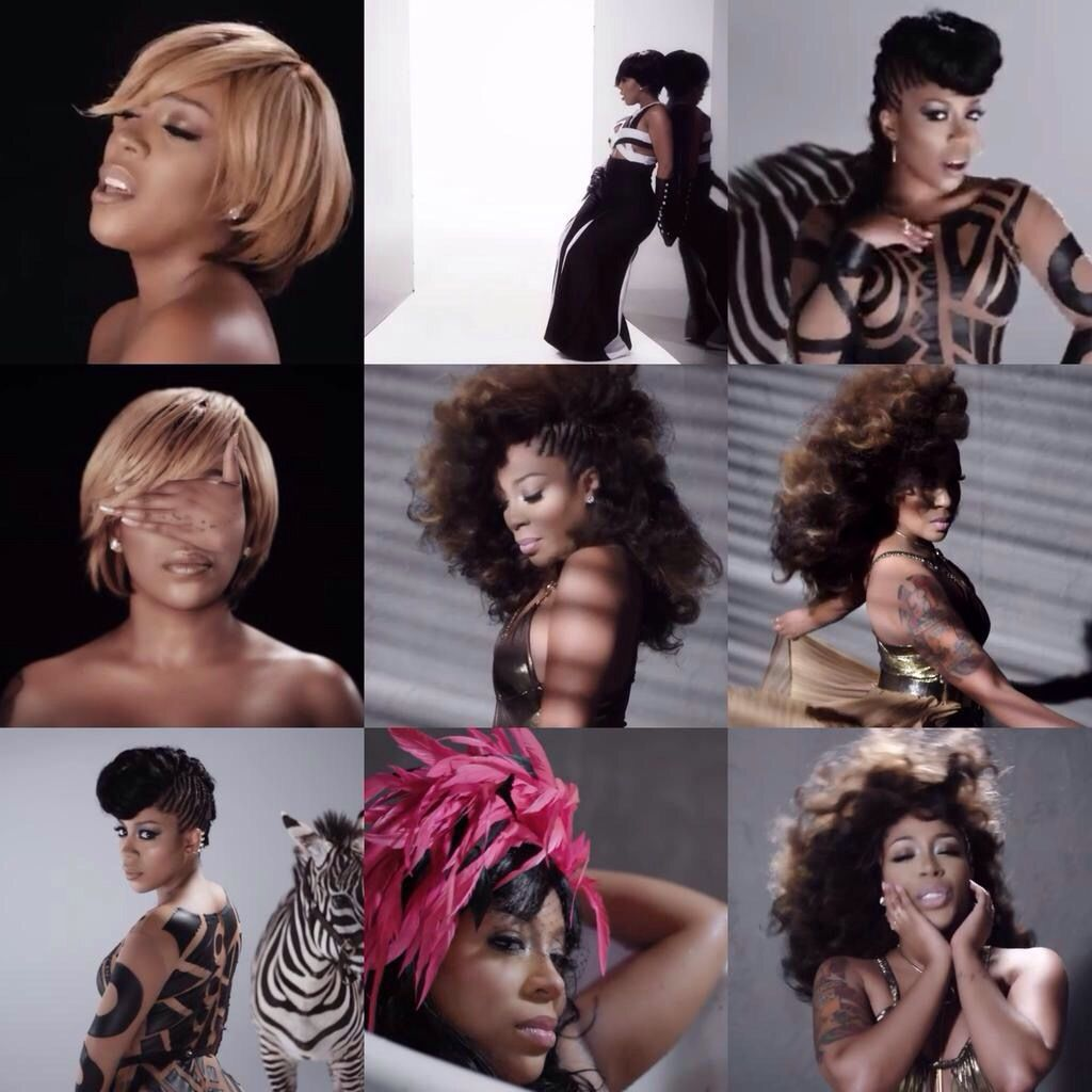 K Michelle Finally Releases A Video For Hard To Do Hair Beauty Hair Styles Beauty