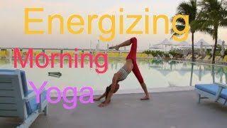 tarastiles  youtube  morning yoga yoga moves