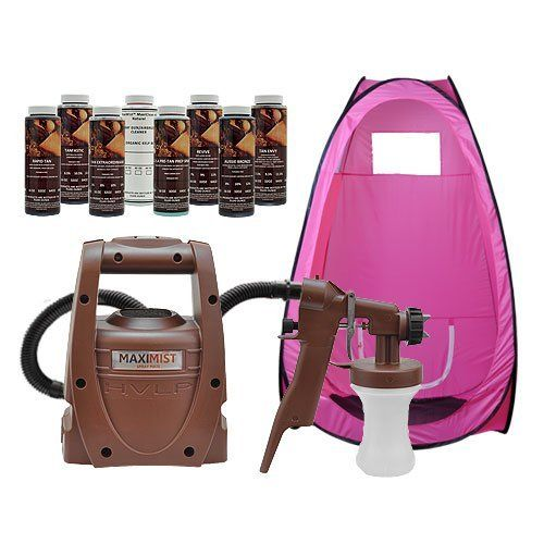 Maximist Spraymate Indoor System Airbrush Spray Solution Gun Pop Up Tanning Tent by MaxiMist. $199.00  sc 1 st  Pinterest & Maximist Spraymate Indoor System Airbrush Spray Solution Gun Pop ...