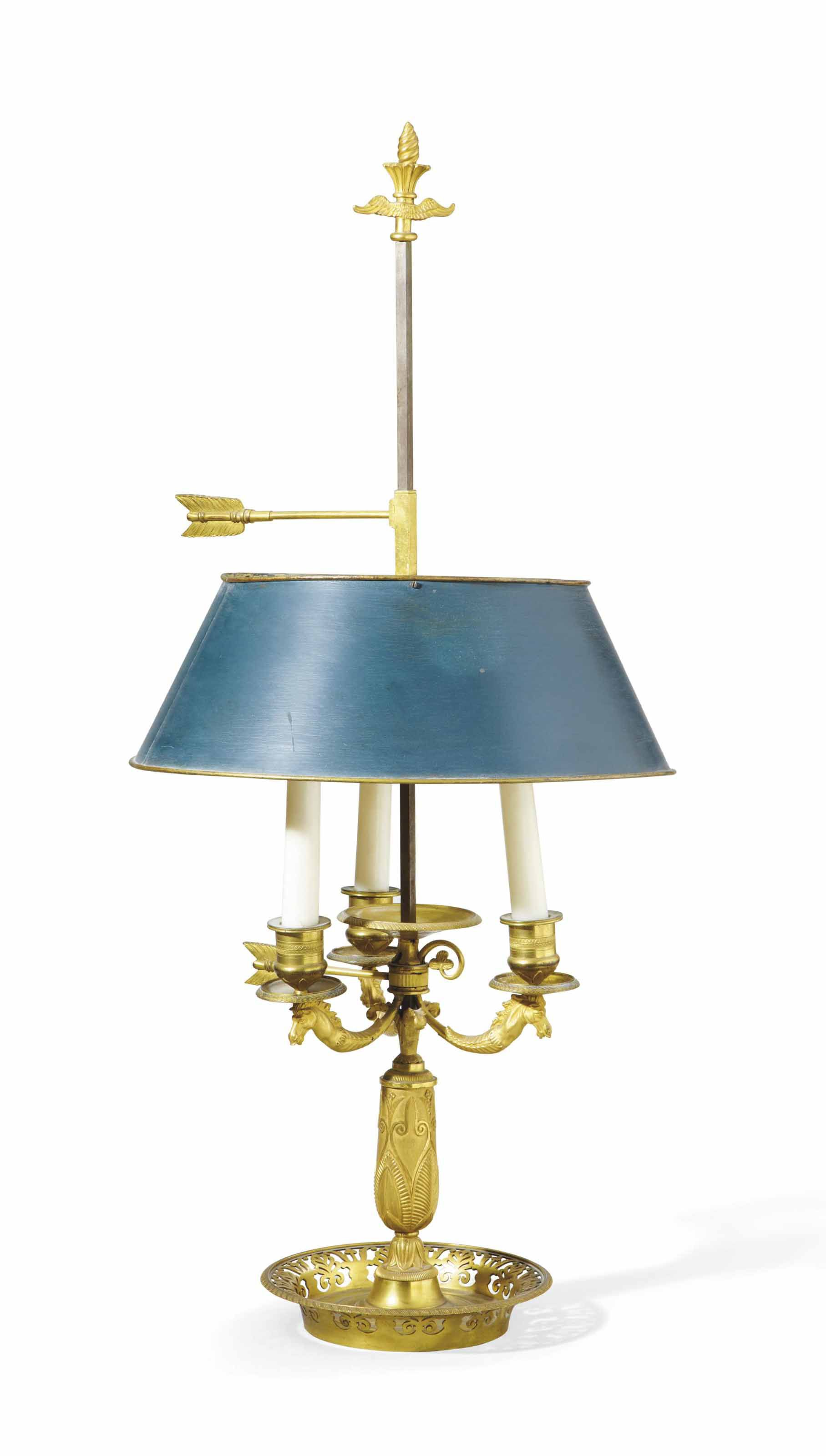 Date Unspecified Lampe Bouillotte D Epoque Empire Debut Du Xixeme