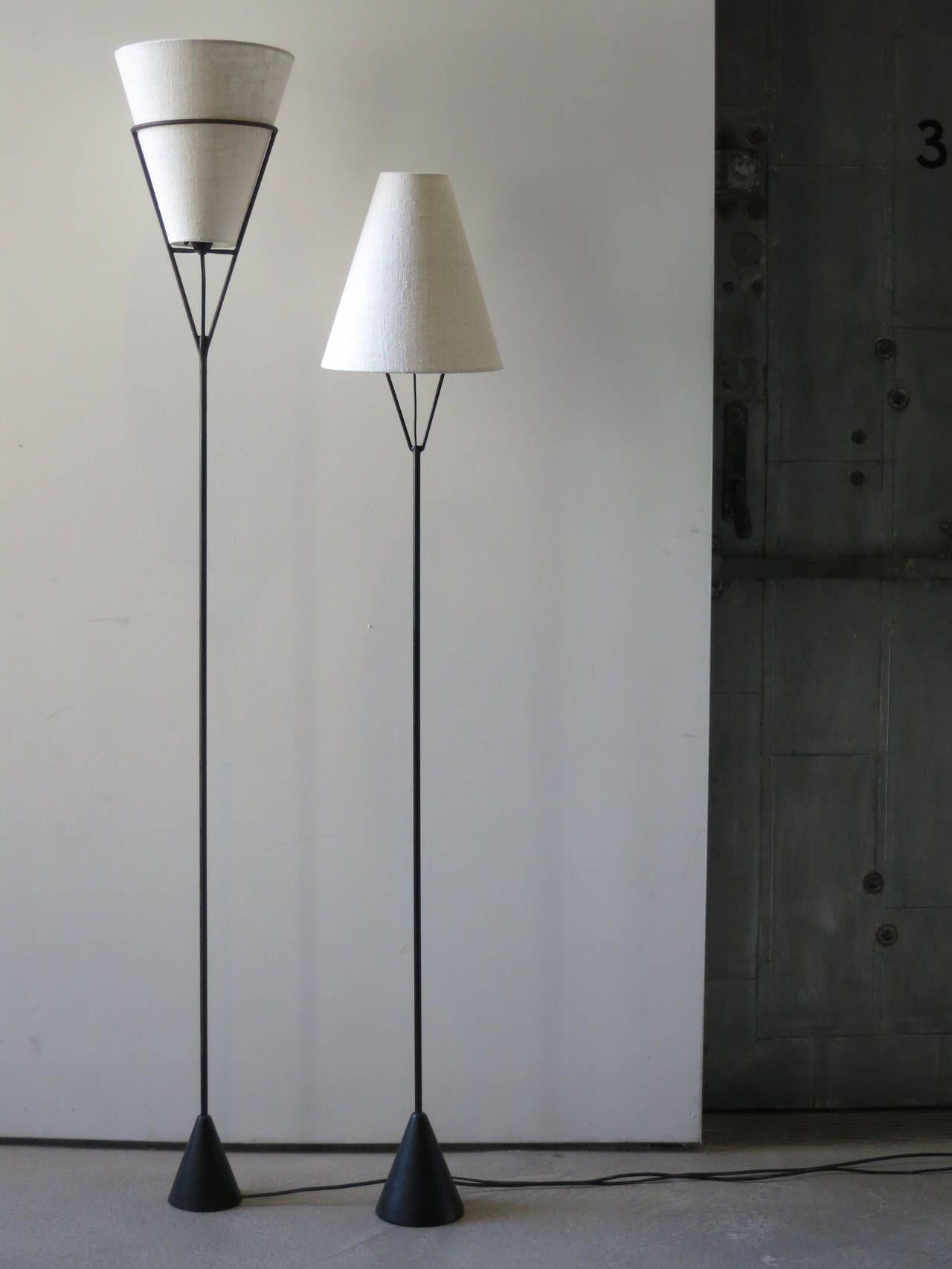 Vintage Carl Aubock Vice Versa Floor Lamp At 1stdibs Vintage Floor Lamp Floor Lamp Makeover Floor Lamp