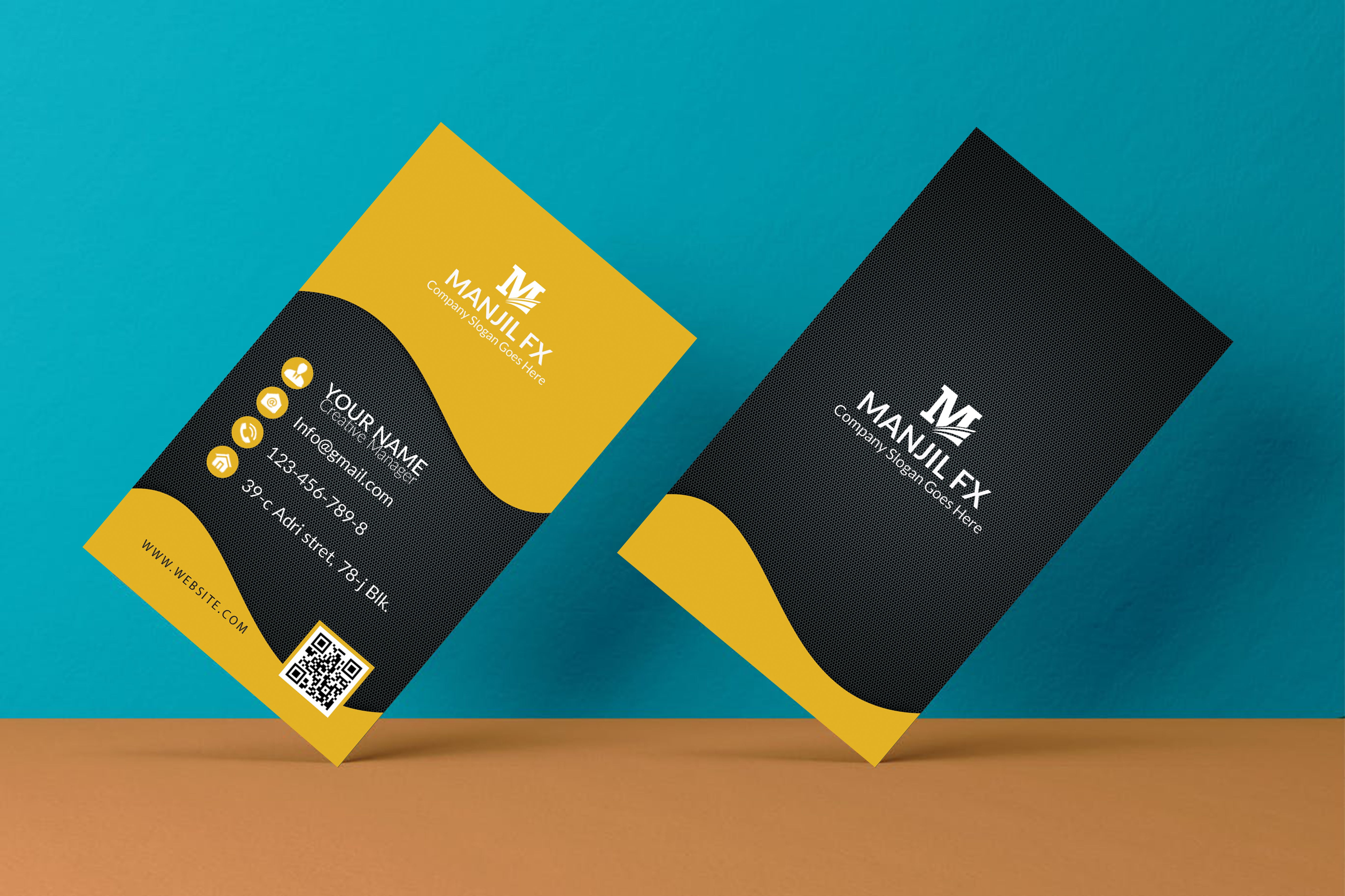 Unique business cards design within 2 hours | Unique business cards ...