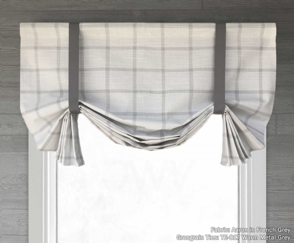 Pin By Priority Window Valances On Custom Balloon Valances And Shades Balloon Valance Farmhouse Valances Modern Valances