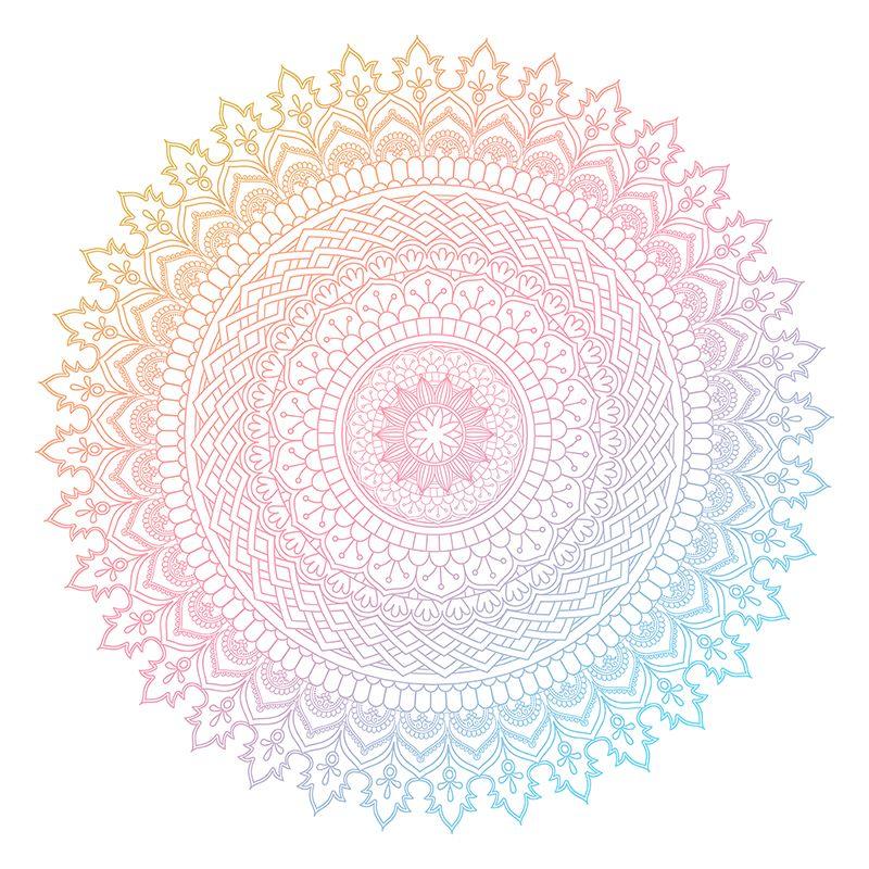 Colourful Mandala Design 3005 Abstract Ornament Mandala Png And