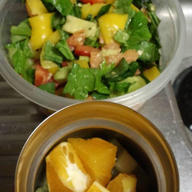 2016/11/23 22:26:49 cristinajokada Tomorrows lunch 明日のお弁当 #healthylunch#vegetables#fruits#健康#野菜#果物#salmon#avocado#サーモン#アボカド#  #健康
