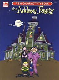1993 The Addams Family Coloring Book Coloring Books Family Coloring Books