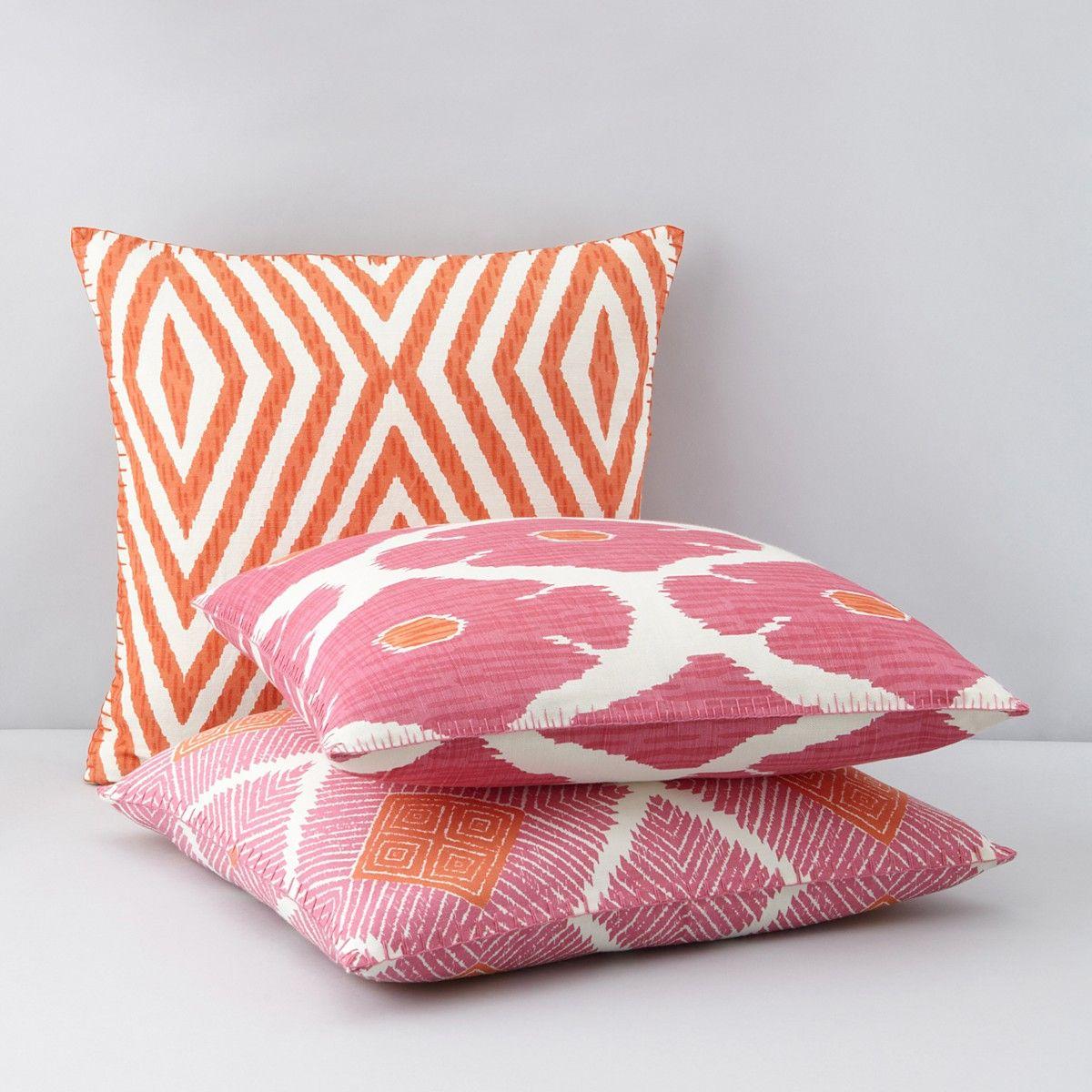 JR by John Robshaw Poppy Lotus Decorative Pillows