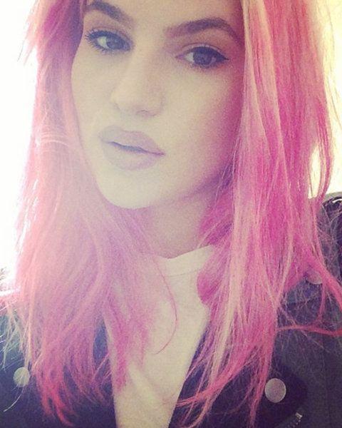 Carly Aquilino pink hair - Google Search