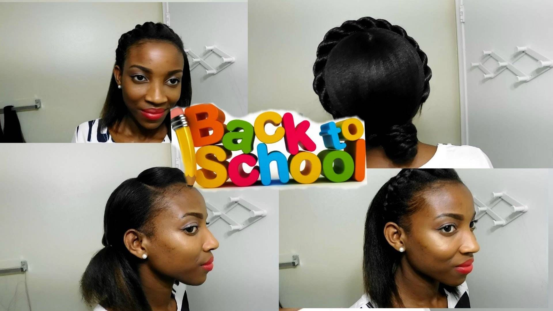 Top Cute Ways To Style Short Relaxed Hair Short Relaxed Hairstyles Relaxed Hair Easy Hairstyles