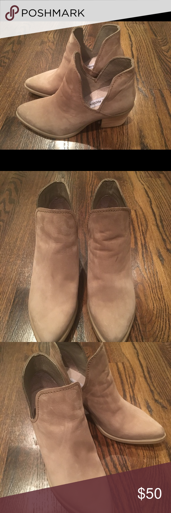 e8734e77cb3 Steve Madden Postal Booties Excellent condition. Worn once. Purchased from Steve  Madden store on
