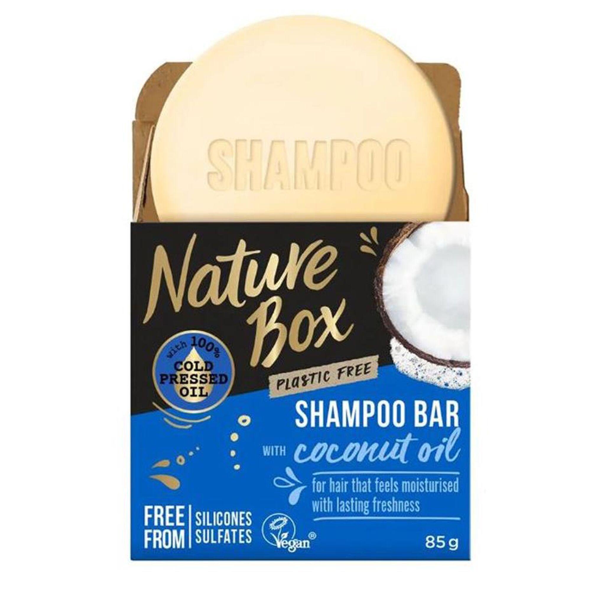 Shampoo Bar with Coconut Oil Shampoo bar NATURE BOX