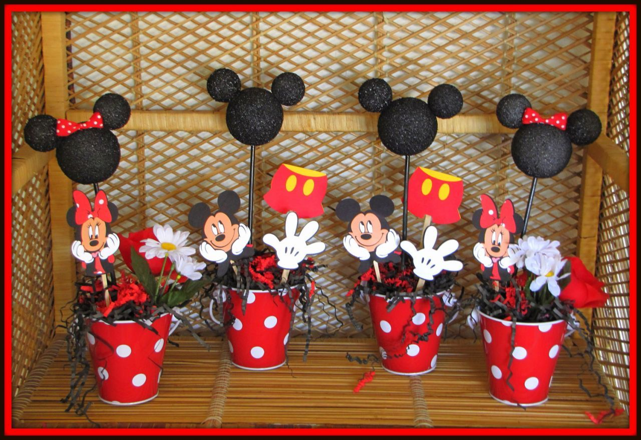 Mickey Mouse Birthday Party Ideas Cake Design and Cookies