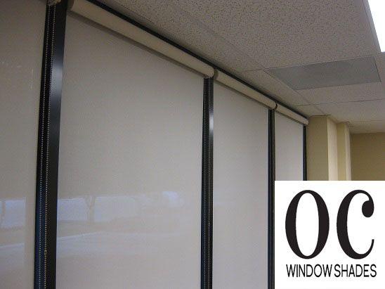 Dental Office Window Shade #officewindowshade #officewindowtreatments |  Window Roller Shade By OC Window Shades | Pinterest