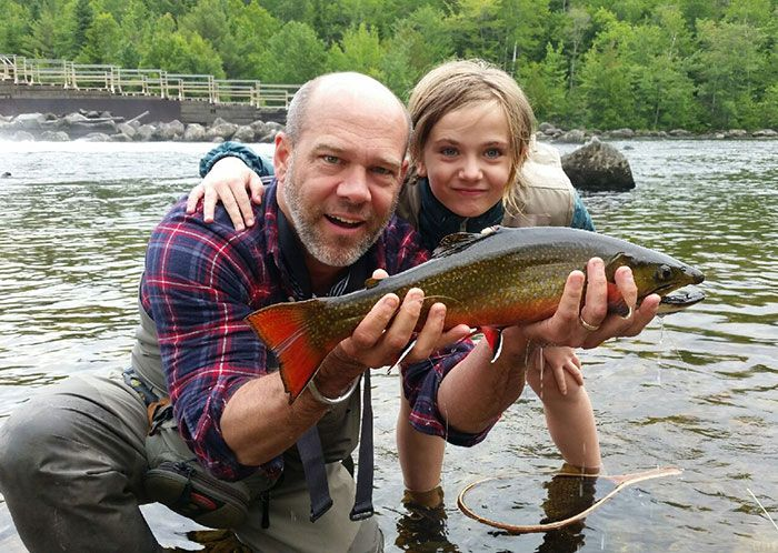 Classic Photos The Mouse And The Big Maine Brook Trout Orvis News Trout Fishing Quotes Brook Trout Orvis Fly Fishing