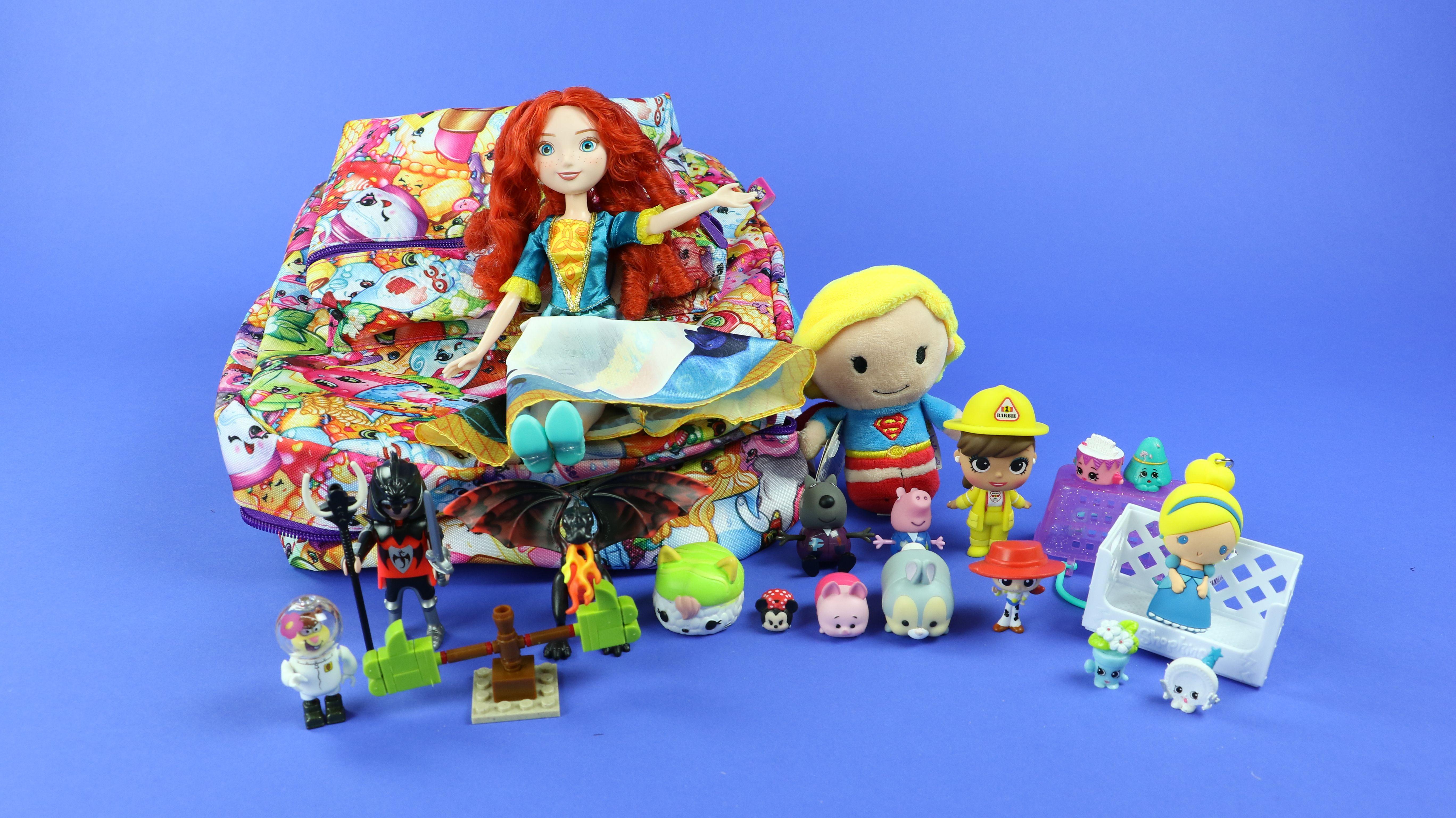 Mochila de juguetes sorpresa!
