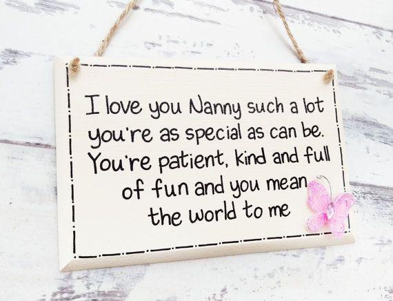 Gifts For Nana Nan Birthday Gift Gifts For Nanny Nan Gift