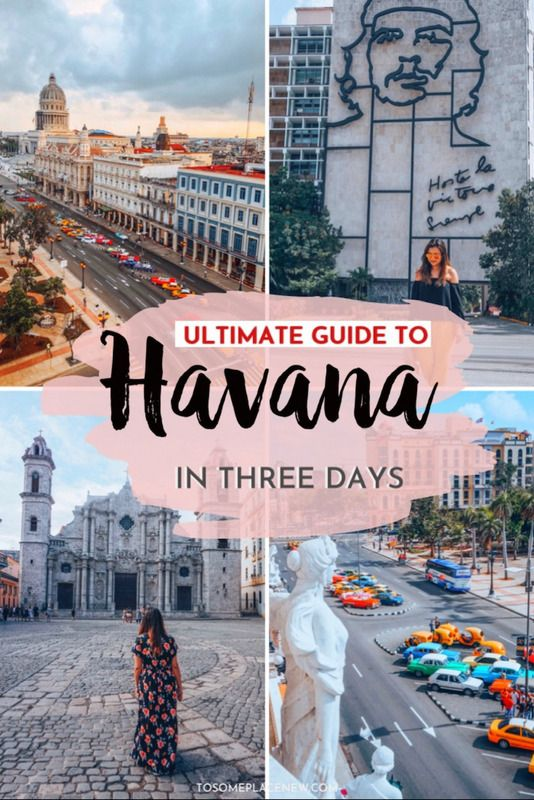 Havana Cuba things to do in 3 days | Havana Cuba trips vacation ideas | Havana Cuba beautiful destinations to visit | Havana Cuba bucket list ideas and cities to explore | Havana Cuba Travel destinations  | Guide to 3 days in Havana Itinerary #havana #cuba