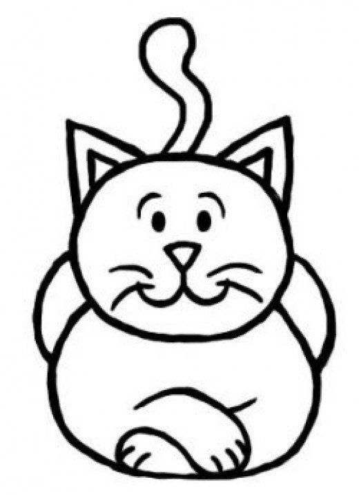 How To Draw A Cat Step By Step Drawing Tutorial For Kids Crafts