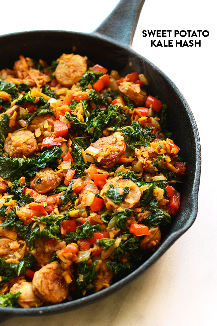 For breakfast, lunch, or dinner...this sweet potato kale