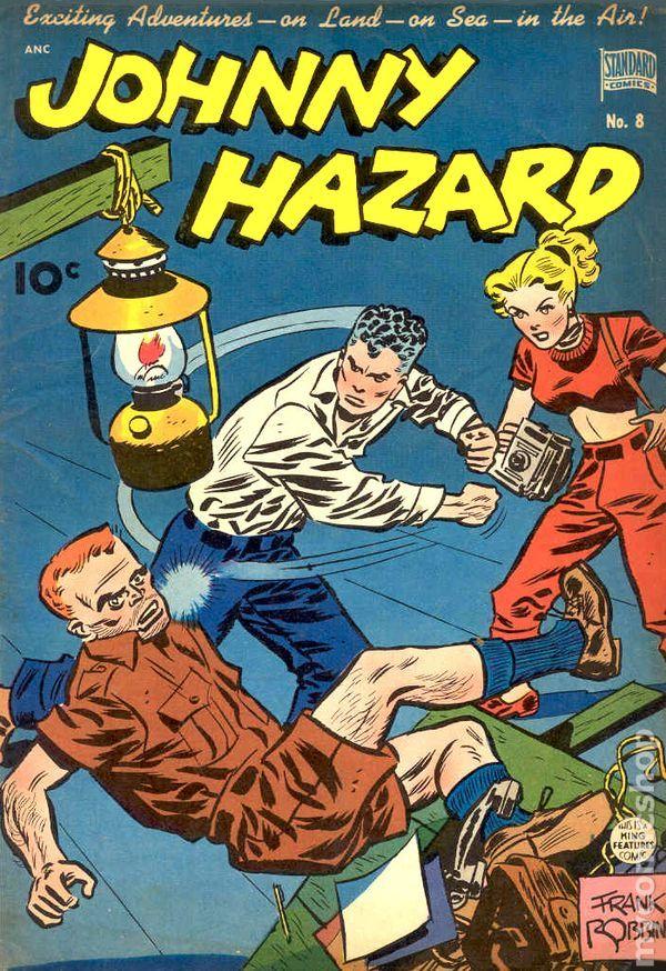 Frank Robbins Johnny Hazard 8 Standard Click To Enlarge